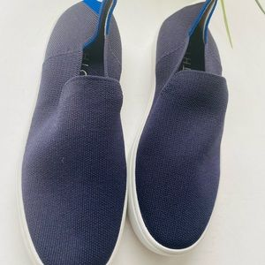 Rothys navy blue sneakers